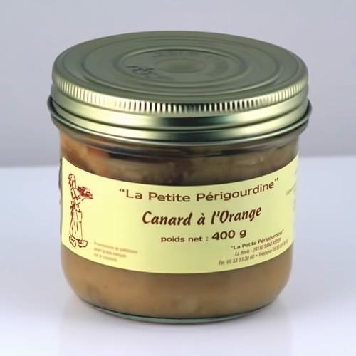 Canard à l'orange (Bocal 400g) - Foie Gras Hélène Mudry