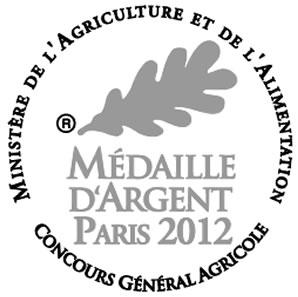 Médaille d'Argent Paris 2012