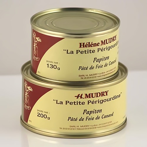 """Le Papiton """"Pâté de foie de canard"""" (Boite)"""