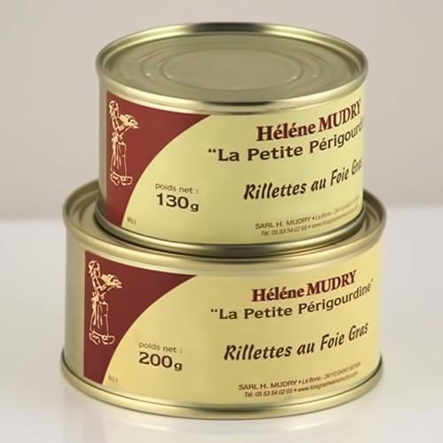 Rillettes au foie gras de Canard 30%