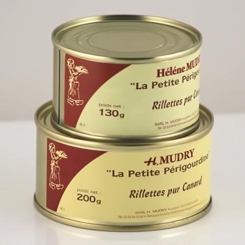 Rillettes Pur Canard (Boite) - Foie Gras Hélène Mudry