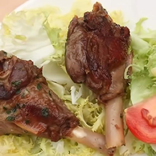 Manchons de canard confits 560 gr boite - Hélène Mudry