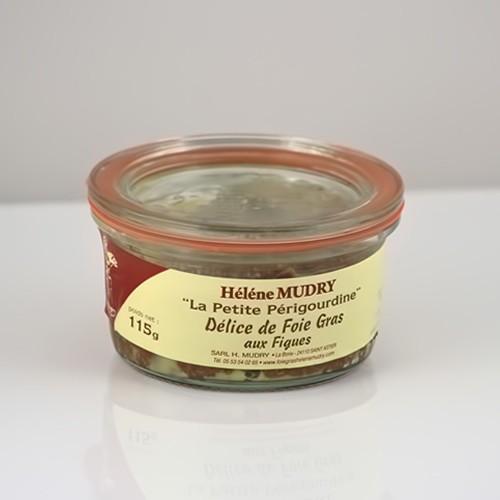 Délice de Foie Gras de Canard aux Figues 115g