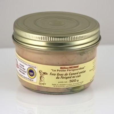 Foie Gras de Canard Entier Mi Cuit (Bocal 320g)