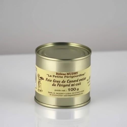 Foie Gras de Canard du Périgord - Boite 100g - Hélène Mudry