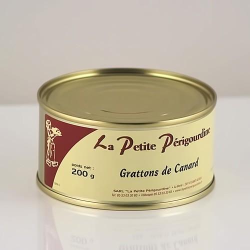Grattons de Canard - Boite 200g